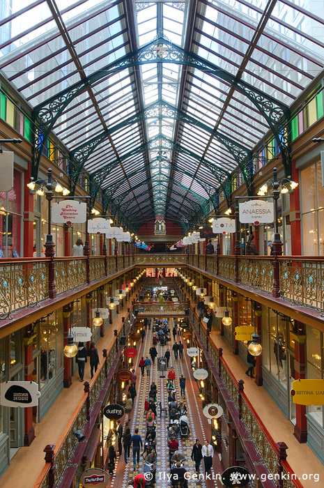 australia stock photography | Interior of The Strand Arcade, Sydney, New South Wales (NSW), Australia, Image ID STRAND-ARCADE-0003