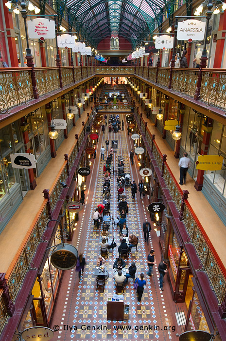 australia stock photography | Interior of The Strand Arcade, Sydney, New South Wales (NSW), Australia, Image ID STRAND-ARCADE-0005