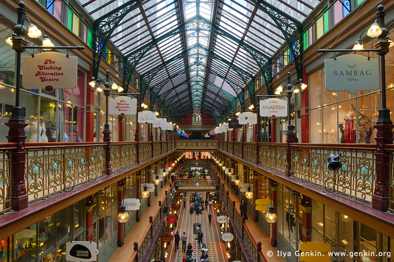 australia stock photography | Interior of The Strand Arcade, Sydney, New South Wales (NSW), Australia, Image ID STRAND-ARCADE-0006