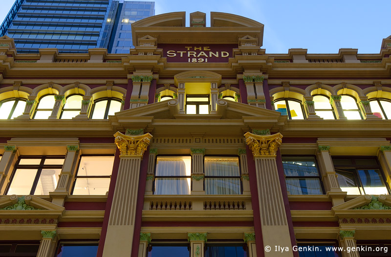 australia stock photography | The Strand Arcade Roof Details, Sydney, New South Wales (NSW), Australia, Image ID STRAND-ARCADE-0007