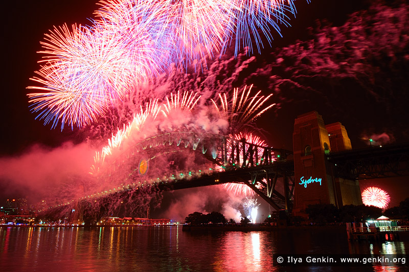 australia stock photography | Sydney's New Year Eve 2012 Fireworks over Harbour Bridge, Sydney, New South Wales (NSW), Australia, Image ID SYDNEY-NYE-FIREWORKS-0007