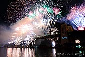 australia stock photography | New Year Eve 2012 Fireworks over Sydney Harbour Bridge, Sydney, New South Wales (NSW), Australia, Image ID SYDNEY-NYE-FIREWORKS-0012.