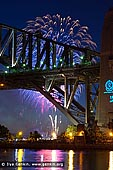 australia stock photography | Midnight Fireworks over Sydney Harbour Bridge, Sydney, New South Wales (NSW), Australia, Image ID SYDNEY-NYE-FIREWORKS-0015.