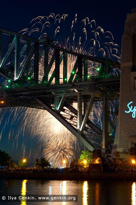 australia stock photography | Sydney's New Year Eve Fireworks over Harbour Bridge, Sydney, New South Wales (NSW), Australia, Image ID SYDNEY-NYE-FIREWORKS-0016