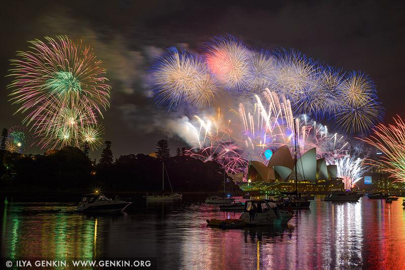 australia stock photography | Sydney's New Year Eve Fireworks 2015 over Harbour Bridge, Sydney, New South Wales (NSW), Australia, Image ID SYDNEY-NYE-FIREWORKS-2015-0002