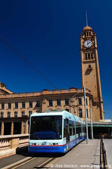 australia stock photography | Sydney Central Train Station and Light Rail, Sydney, New South Wales (NSW), Australia, Image ID AU-SYDNEY-LIGHT-RAIL-0001
