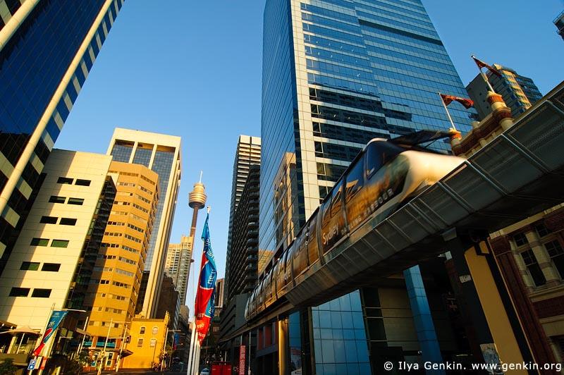 australia stock photography | Sydney Monorail, Sydney, New South Wales (NSW), Australia, Image ID AU-SYDNEY-MONORAIL-0001