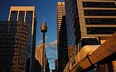 australia stock photography | Sydney Monorail, Sydney, New South Wales (NSW), Australia, Image ID AU-SYDNEY-MONORAIL-0003.