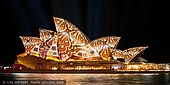 australia stock photography | Vivid Sydney 2014 - Lighting of the Sails, Sydney, NSW, Australia, Image ID VIVID-SYDNEY-2014-0002.