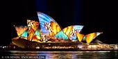 australia stock photography | Vivid Sydney 2014 - Lighting of the Sails, Sydney, NSW, Australia, Image ID VIVID-SYDNEY-2014-0003.
