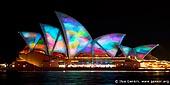 australia stock photography | Lighting the Sails - Vivid Sydney 2011, Sydney, NSW, Australia, Image ID VIVID-SYDNEY-LIGHTING-THE-SAILS-0005.