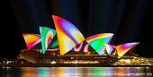 australia stock photography | Lighting the Sails - Vivid Sydney 2011, Sydney, NSW, Australia, Image ID VIVID-SYDNEY-LIGHTING-THE-SAILS-0020.