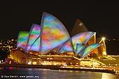 australia stock photography | Lighting the Sails - Vivid Sydney 2011, Sydney, NSW, Australia, Image ID VIVID-SYDNEY-LIGHTING-THE-SAILS-0046.