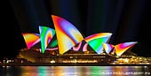australia stock photography | Lighting the Sails - Vivid Sydney 2011, Sydney, NSW, Australia, Image ID VIVID-SYDNEY-LIGHTING-THE-SAILS-0020.