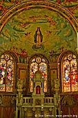 australia stock photography | The Spectacular Murals Adorning the Interior of St Mary's Church, Bairnsdale, Gippsland, VIC, Australia, Image ID AU-BAIRNSDALE-0002.
