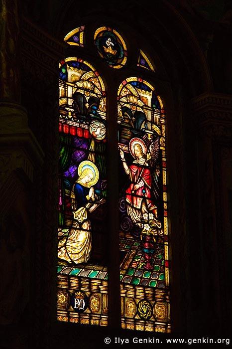 australia stock photography   Stained Glass at St Mary's Catholic Church, Bairnsdale, Gippsland, VIC, Australia, Image ID AU-BAIRNSDALE-0003