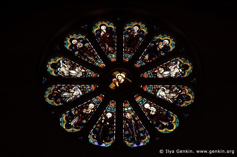 australia stock photography   Stained Glass at St Mary's Catholic Church, Bairnsdale, Gippsland, VIC, Australia, Image ID AU-BAIRNSDALE-0005