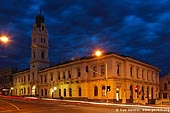 australia stock photography | University of Ballarat at Night, Former Post Office, Ballarat, VIC, Australia, Image ID AU-BALLARAT-0007.