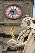 australia stock photography | Ballarat Town Hall and Queen Victoria Statue, Ballarat, VIC, Australia, Image ID AU-BALLARAT-0012.