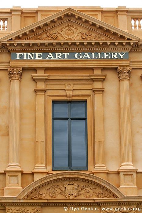 australia stock photography | Art Gallery of Ballarat Architecture Details, Ballarat, VIC, Australia, Image ID AU-BALLARAT-0018