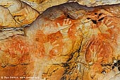 australia stock photography | Aboriginal Rock Art Paintings at Ngamadjidj Shelter, Grampians National Park, Victoria (VIC), Australia, Image ID NGAMADJIDI-SHELTER-0001. The paintings at Ngamadjidj - Aboriginal Rock Art Site in the Grampians National Park (Gariwerd), Victoria (VIC), Australia.