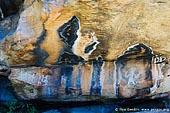australia stock photography   Aboriginal Rock Art Paintings at Ngamadjidj Shelter, Grampians National Park, Victoria (VIC), Australia, Image ID NGAMADJIDI-SHELTER-0008. The paintings at Ngamadjidj - Aboriginal Rock Art Site in the Grampians National Park (Gariwerd), Victoria (VIC), Australia.