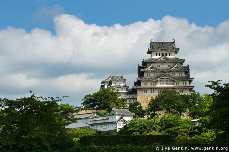 japan stock photography | Himeji Castle, Hyogo Prefecture, Kansai region, Honshu Island, Japan, Image ID JPHJ0001
