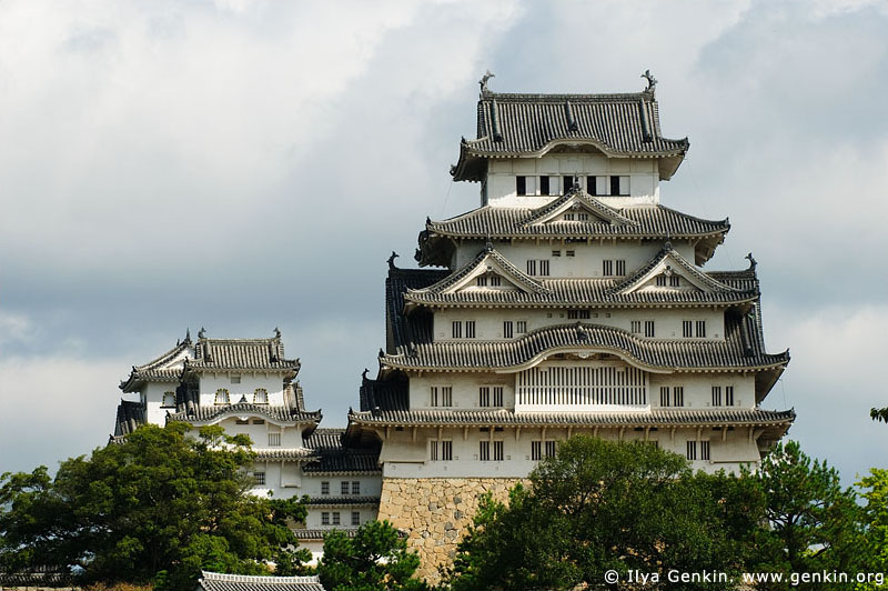 japan stock photography | Himeji Castle, Hyogo Prefecture, Kansai region, Honshu Island, Japan, Image ID JPHJ0002