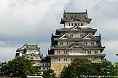 japan stock photography | Himeji Castle, Hyogo Prefecture, Kansai region, Honshu Island, Japan, Image ID JPHJ0002.