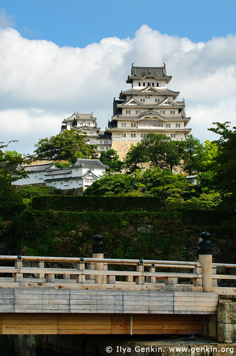 japan stock photography | Himeji Castle, Hyogo Prefecture, Kansai region, Honshu Island, Japan, Image ID JPHJ0003