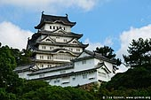 japan stock photography | Himeji Castle, Hyogo Prefecture, Kansai region, Honshu Island, Japan, Image ID JPHJ0005.