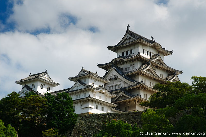 japan stock photography | Himeji Castle, Hyogo Prefecture, Kansai region, Honshu Island, Japan, Image ID JPHJ0006