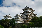 japan stock photography | Himeji Castle, Hyogo Prefecture, Kansai region, Honshu Island, Japan, Image ID JPHJ0006.