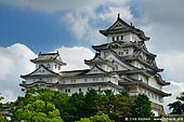japan stock photography | Himeji Castle, Hyogo Prefecture, Kansai region, Honshu Island, Japan, Image ID JPHJ0008.