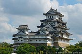 japan stock photography | Himeji Castle, Hyogo Prefecture, Kansai region, Honshu Island, Japan, Image ID JPHJ0009.