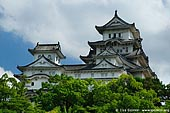 japan stock photography | Himeji Castle, Hyogo Prefecture, Kansai region, Honshu Island, Japan, Image ID JPHJ0010.
