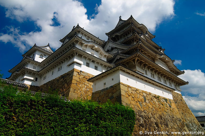 japan stock photography | Himeji Castle, Hyogo Prefecture, Kansai region, Honshu Island, Japan, Image ID JPHJ0019