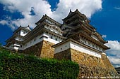 japan stock photography | Himeji Castle, Hyogo Prefecture, Kansai region, Honshu Island, Japan, Image ID JPHJ0019.