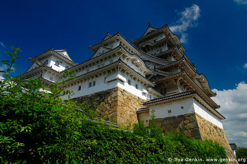japan stock photography | Himeji Castle, Hyogo Prefecture, Kansai region, Honshu Island, Japan, Image ID JPHJ0021
