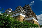 japan stock photography | Himeji Castle, Hyogo Prefecture, Kansai region, Honshu Island, Japan, Image ID JPHJ0021.