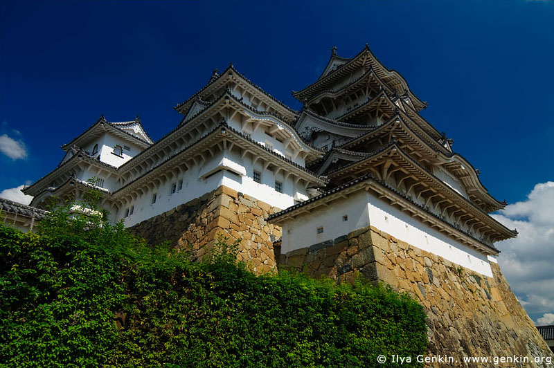 japan stock photography | Himeji Castle, Hyogo Prefecture, Kansai region, Honshu Island, Japan, Image ID JPHJ0022