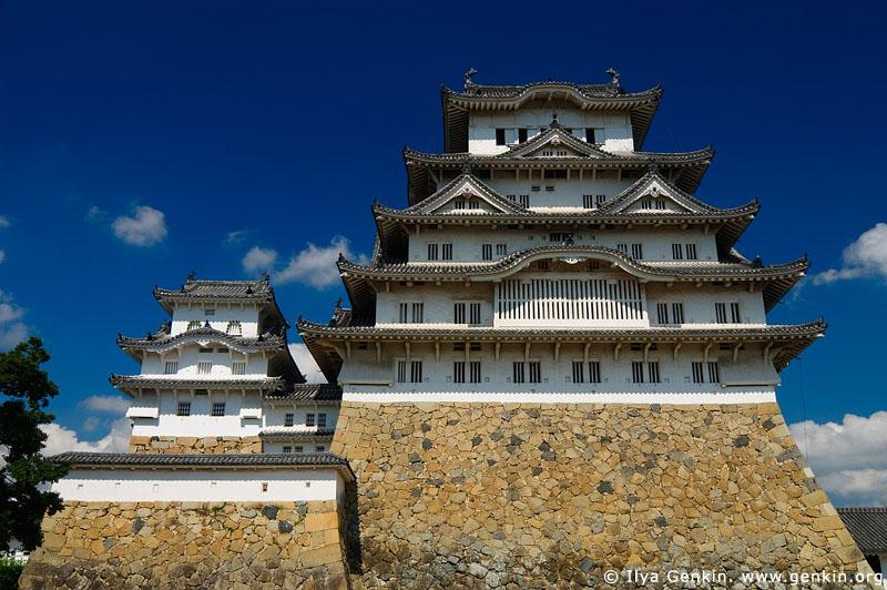 japan stock photography   Himeji Castle, Hyogo Prefecture, Kansai region, Honshu Island, Japan, Image ID JPHJ0023