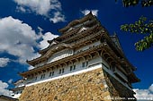 japan stock photography | Himeji Castle, Hyogo Prefecture, Kansai region, Honshu Island, Japan, Image ID JPHJ0025.