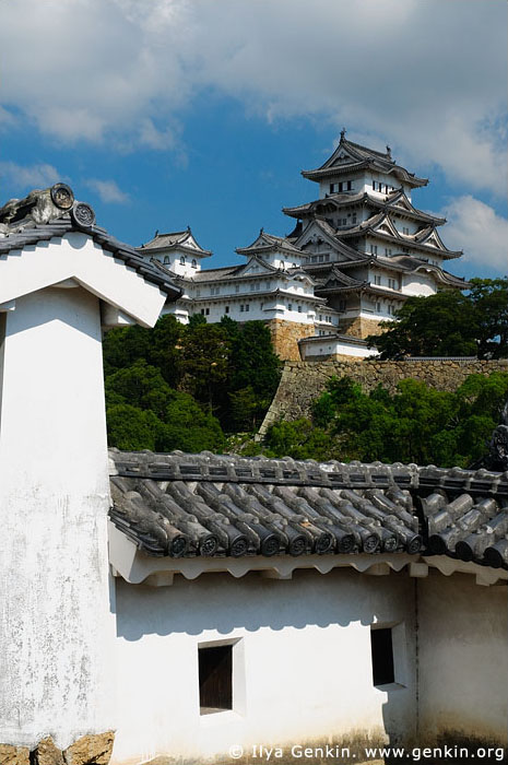 japan stock photography | Himeji Castle, Hyogo Prefecture, Kansai region, Honshu Island, Japan, Image ID JPHJ0026