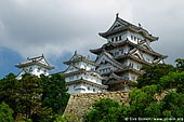 japan stock photography | Himeji Castle, Hyogo Prefecture, Kansai region, Honshu Island, Japan, Image ID JPHJ0028.