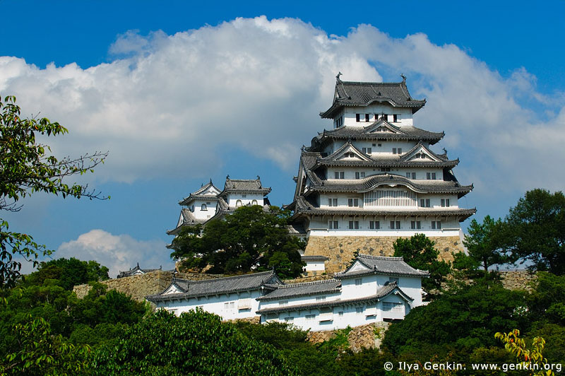 japan stock photography | Himeji Castle, Hyogo Prefecture, Kansai region, Honshu Island, Japan, Image ID JPHJ0029