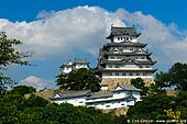 japan stock photography | Himeji Castle, Hyogo Prefecture, Kansai region, Honshu Island, Japan, Image ID JPHJ0029.