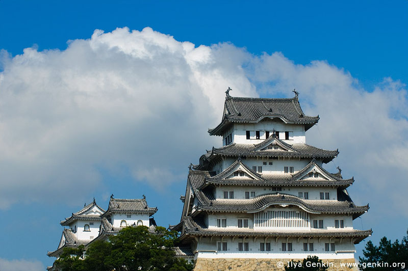 japan stock photography | Himeji Castle, Hyogo Prefecture, Kansai region, Honshu Island, Japan, Image ID JPHJ0030