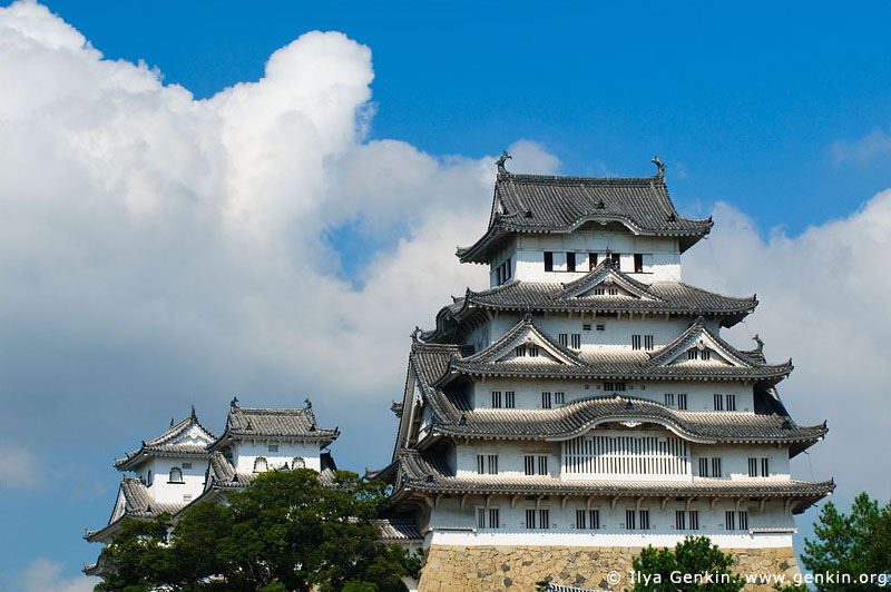 japan stock photography | Himeji Castle, Hyogo Prefecture, Kansai region, Honshu Island, Japan, Image ID JPHJ0031