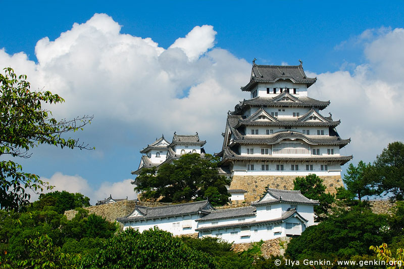 japan stock photography | Himeji Castle, Hyogo Prefecture, Kansai region, Honshu Island, Japan, Image ID JPHJ0032